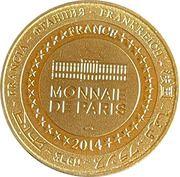 Jeton touristique - Monnaie de Paris -  La forêt des singes – reverse