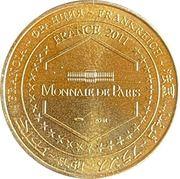 Jeton touristique - Monnaie de Paris -  Les grottes de Presque – reverse