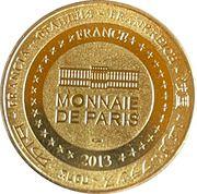 Jeton touristique - Monnaie de Paris -  Gouffre de Proumeyssac – reverse