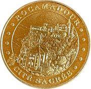 Jeton touristique - Monnaie de Paris -  Rocamadour – obverse