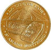 Jeton touristique - Monnaie de Paris -  La cité de l'or – obverse