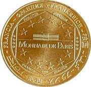 Jeton touristique - Monnaie de Paris -  La cité de l'or – reverse