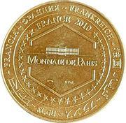 Jeton touristique - Monnaie de Paris -  Grottes de Sare – reverse