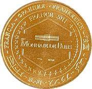 Jeton touristique - Monnaie de Paris -  Homme de Néandertal – reverse