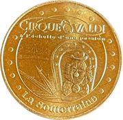 Jeton touristique - Monnaie de Paris -  Cirque Valdi – obverse