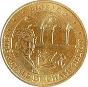 Jeton touristique - Monnaie de Paris -  Figéac – obverse
