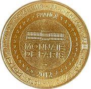 Jeton touristique - Monnaie de Paris -  Figéac – reverse