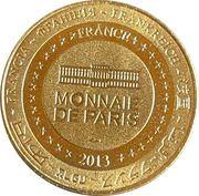 Jeton touristique - Monnaie de Paris -  Super Besse – reverse