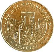 Jeton touristique - Monnaie de Paris -  Les Champs-Elysées – obverse