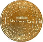 Jeton touristique - Monnaie de Paris -  Les Champs-Elysées – reverse