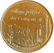 Jeton touristique - Monnaie de Paris -  Saint-Cirq Lapopie – obverse