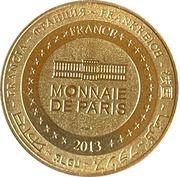 Jeton touristique - Monnaie de Paris -  Saint-Cirq Lapopie – reverse