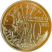 Jeton touristique - Monnaie de Paris -  Le Bournat - 20 ans – obverse