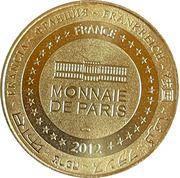 Jeton touristique - Monnaie de Paris -  Le Bournat - 20 ans – reverse