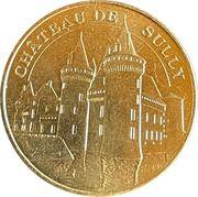 Jeton touristique - Monnaie de Paris -  Chateau de Sully – obverse