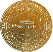 Jeton touristique - Monnaie de Paris -  Chateau de Sully – reverse