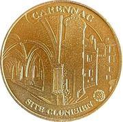 Jeton touristique - Monnaie de Paris -  Carennac – obverse