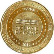 Jeton touristique - Monnaie de Paris -  Collonges-la-rouge – reverse