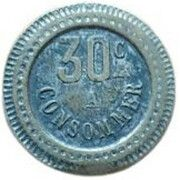 30 Centimes - A Consommer (Moon) – reverse