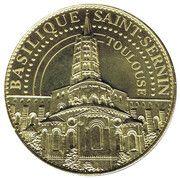 Jeton touristique - Basilique Saint Sernin - Toulouse – obverse