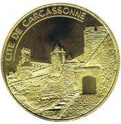 Jeton touristique - Cité de Carcassonne - Fonderie St Luc – obverse