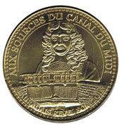 Jeton touristique - Monnaie de Paris - Aux sourses Canal du Midi – obverse