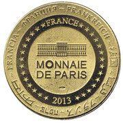 Jeton touristique - Monnaie de Paris - Aux sourses Canal du Midi – reverse