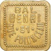 Bal Henri - Paris [75] – obverse