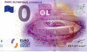 0 Euro - Parc Olympique Lyonnais – obverse