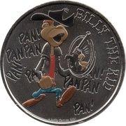 Jeton Touristique - Monnaie de Paris - Lucky Luke - Billy the Kid – obverse