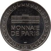 Jeton Touristique - Monnaie de Paris - Lucky Luke - Billy the Kid – reverse