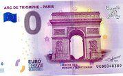 Arc de Triomphe PARIS – obverse