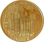 Jeton touristique - Médailles et patrimoine - Fourvière – obverse