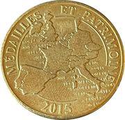 Jeton touristique - Médailles et patrimoine - Fourvière – reverse