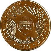 Jeton touristique - Monnaie de Paris - Musée des marais salants – reverse