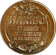 Jeton touristique - Monnaie de Paris - Haribo – obverse