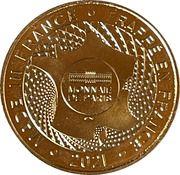 Jeton touristique - Monnaie de Paris - Haribo – reverse