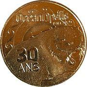Jeton touristique - Monnaie de Paris - Océanopolis - 30 ans – obverse