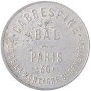 Bal Cabrespine - Paris [75] – obverse