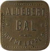 Bon pour une danse - Bal Aldebert - Paris [75] – obverse