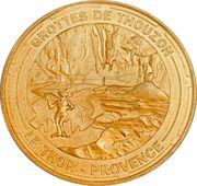 Jeton touristique - Monnaie de Paris - Grottes de Thouzon – obverse
