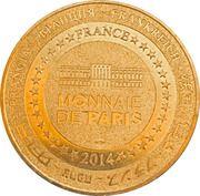 Jeton touristique - Monnaie de Paris - Grottes de Thouzon – reverse