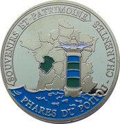 Jeton touristique - Souvenirs et Patrimoine - Île d'Oléron - Phare de Chassiron – reverse