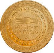 Jeton touristique - Monnaie de Paris - Pays de saint Gilles croix de vie – reverse