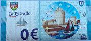 0 euro - La Rochelle - L'entrée du vieux port et la grosse horloge – obverse