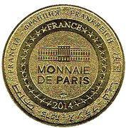 Jeton touristique - Monnaie de Paris - Le Maréchal de Turenne – reverse