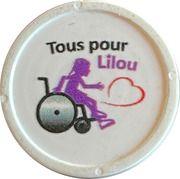 Jeton de chariot - Tous pour Lilou – obverse