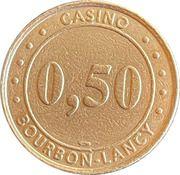 Jeton de casino - Bourbon Lancy – obverse