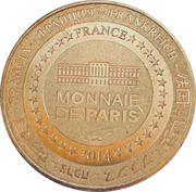 Jeton touristique - Monnaie de Paris - Col du Tourmalet – reverse