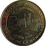 Jeton Touristique - Monnaie de Paris - Oradour-sur-Glane – obverse
